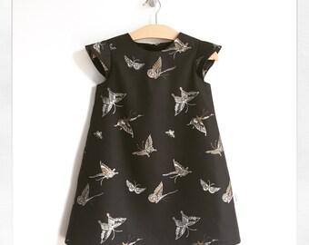 SAMPLE SALE   lani   modern girl dress   size three