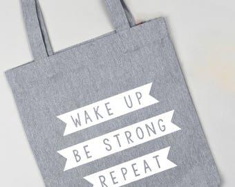 Tote bag, reusable shopping bag, gift for her, empowering message, gift for women, reusable bag, bag for life, birthday gift