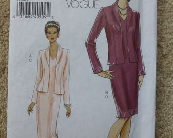 Vogue pattern V8188 Very easy Vogue 16-18-20-22
