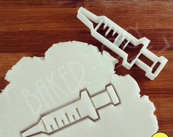 Syringe cookie cutters & others, biscuit biscuits Gifts for nursing students nurses practitioners health care student | hospital hospitals