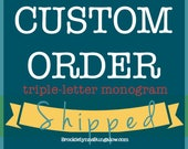Wooden Cutout Monograms |...