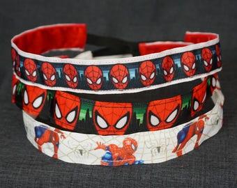 Spider-man Inspired Non-slip Headband - Head, Eyes, White