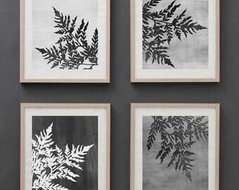 Botanical, Plants print, Graphic, Minimalistic art,  Modern art, Wall decor, Digital art, Printable, Digital poster Instant Download 11x14