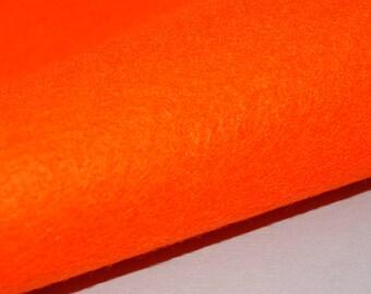 2 Felt Sheets, Orange signal (555)