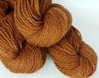 Handspun Alpaca Yarn!  200 Yards.  4 Ounces. Worsted Weight.(FREE SHIPPING!)