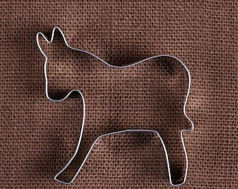 Donkey Cookie Cutter, Political Cookie Cutter, Election Cookie Cutter, Metal Cookie Cutters, Cookie Cutters, Sugar Cookie Cutters