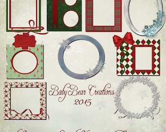 Commercial Use Christmas Frames 2