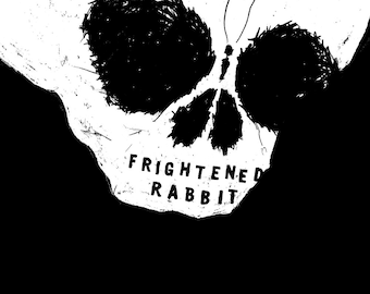 Frightened Rabbit Glow-in-the-Dark Gig Poster