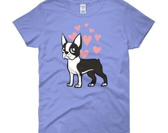 Boston terrier shirt, boston terrier gift, boston terrier tee, boston terrier mom, boston terrier lover