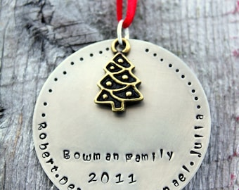 Family Ornament Personalized - Family Christmas Ornament - 2017 Family Ornament - Personalized Christmas Ornament Family - Gift For family