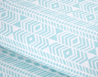 Fat Quarter Sale! - Wander Tribe in Aqua by Joel Dewberry