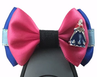 """Princess Dress Collection - Anna inspired Magic Band Bow, Apple Watch Bow, 2"""" Mini Hair Bow, Planner Clip Bow"""
