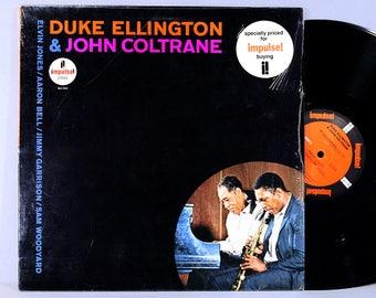 Duke Ellington & John Coltrane - Vintage Vinyl Record Album 1988 Reissue in Shrink with Insert