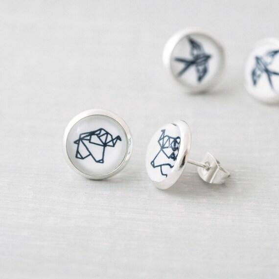 Origami Animal Necklace