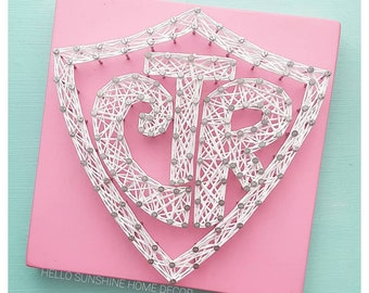 FREE SHIPPING Choose the Right String Art CTR