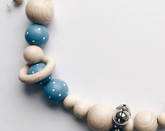 Hand Painted stroller Chain-Sky
