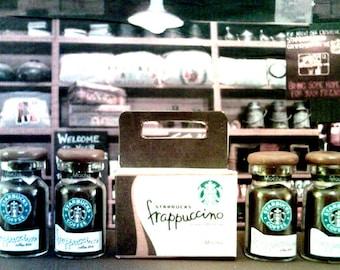American Girl Sized Starbucks Mocha Frappucinno's In Carton