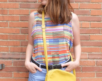 Vintage top with stripes,, size M