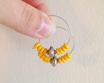 Lovely Little Southwest Inspired Hoops Earrings