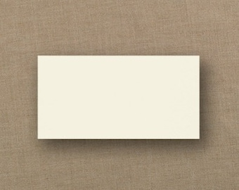 Ivory Wedding Place Cards Blank (Set of 50) Wedding Supplies