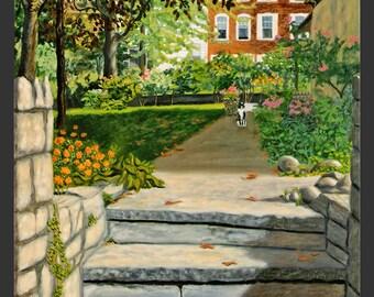 Dobbs Ferry: Garden and Steps