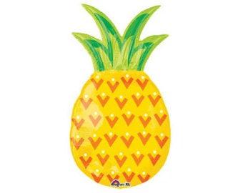Pineapple Balloon - Giant Balloon  Party Decor - Tropical Party Birthday - Luau
