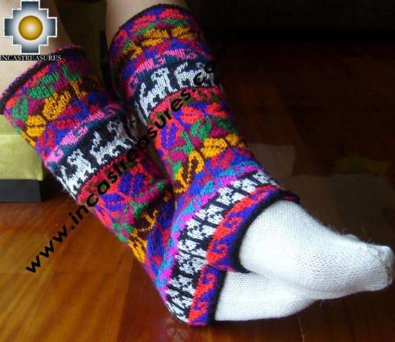 Alpaca Leg Warmers Huancavelica buy ONE get TWO, Free Shipping