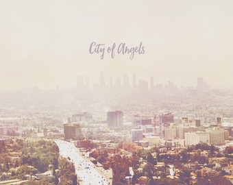 Los Angeles Art, Los Angeles Photography, LA Art, LA Photography, LA Art Print, Los Angeles Art Print, City of Angels, Los Angeles Cityscape