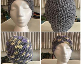 Crochet Beanie, Hat, Touque
