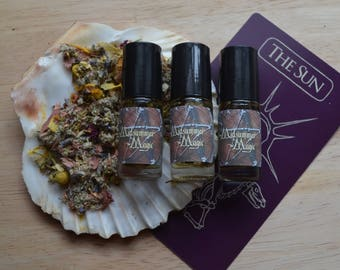Midsummer Magic Litha Sabbat Ritual Oil
