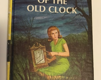 "1959 First Gossett Hardcover Edition of Book 1 of the Nancy Drew Mystery Stories, ""The Secret of the Old Clock"" by Carolyn Keene"