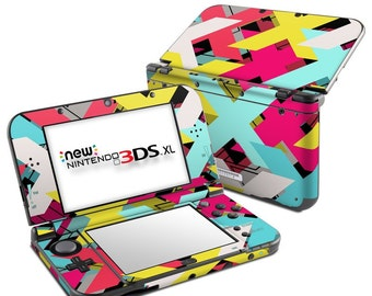 Nintendo 3DS XL Skin - Baseline Shift by FP - Sticker Decal Wrap - Fits New and Original