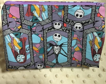 Nightmare Before Christmas Cosmetic Bag / Pouch