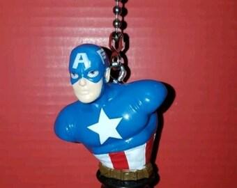 Marvel, Captain America,  Character Ceiling Fan Pulls, Avengers