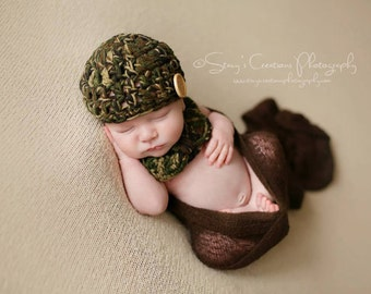 Crochet Childs Hat, Childs Winter Hat, Boys Winter Hat, Childrens Beanie, Boys Beanie, Crochet Beanie, Camo Hat, Toddler Beanie, Toddler Hat