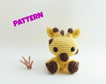 Amigurumi Giraffe Pattern, Crochet Animal Pattern, Amigurumi Animal Pattern, Crochet Amigurumi Animal Pattern, Amigurumi Pattern, Kids Toys