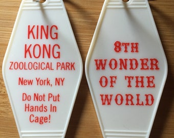 King Kong inspired keytag