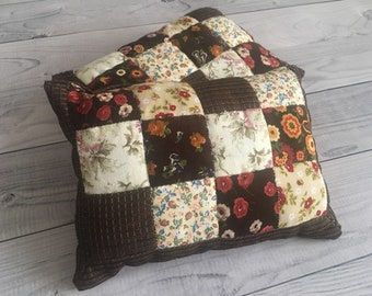 Newborn posing pillow patchwork photo prop