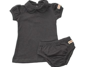 Organic Baby Clothes  - Pink or Black