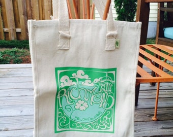 Richmond Grow Your Own Roots Tote - Green