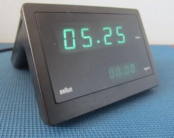 Braun Visotronic 4 DN54  Digital Alarm Clock Germany