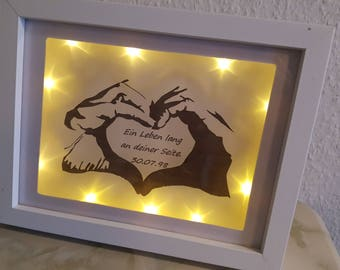 Picture frame for a lifetime at your side