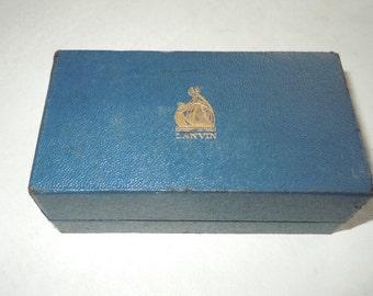 Vintage Lanvin perfume Box