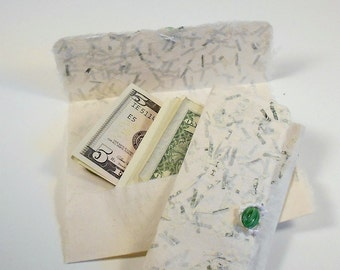 MONEY Money Money Hand Made Paper Gift Card Holder--All Occasion--PM-2PGCH