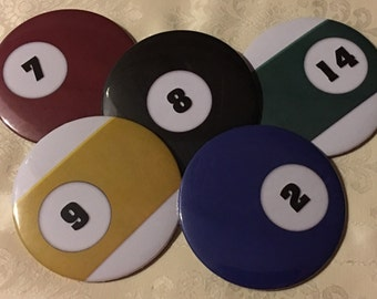 Pool Ball Coasters