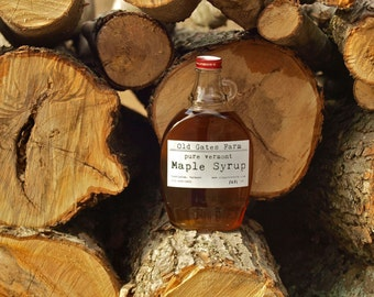 Pure Vermont Maple Syrup - wood fired