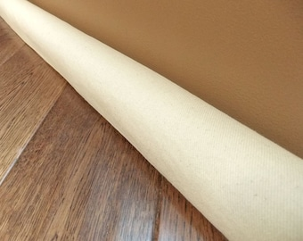 extra long CANVAS draft guard, door draft stopper, draft snake, light noise blocker