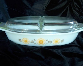 Pryex Town and Country 1.5 Qt Divided Casserole