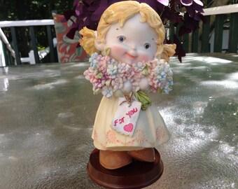 Vintage figurine- Just for you!