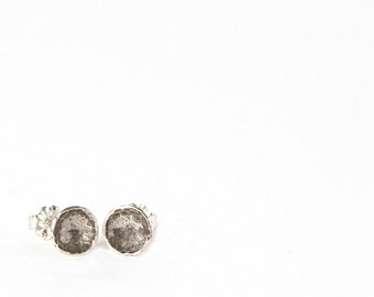 Darling Cup Studs- Recycled Sterling Silver